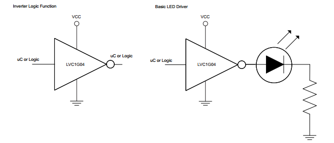 Application circuits.